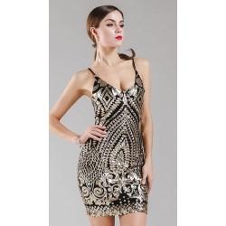 Vestido Corto 4034