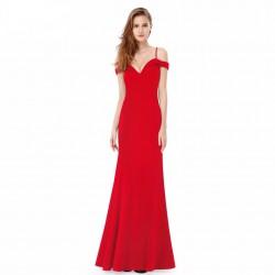 Vestido largo rojo 3007